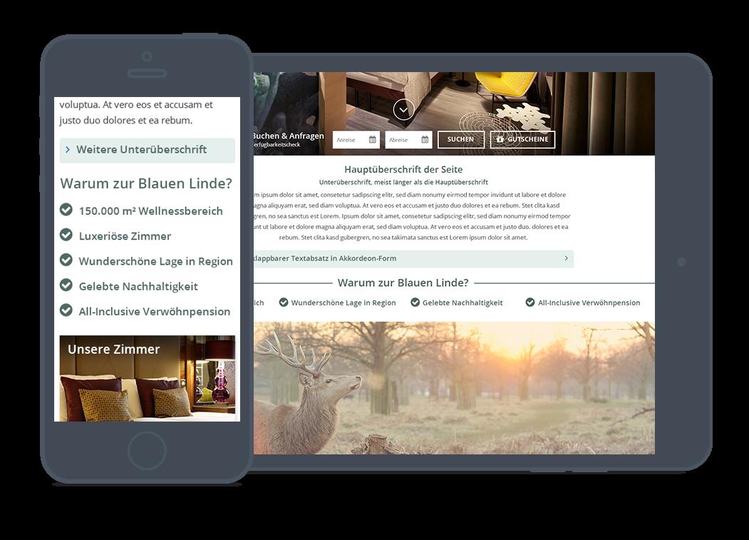 OnePage - Template-Vorlagen - Junior-Websites - vioma GmbH