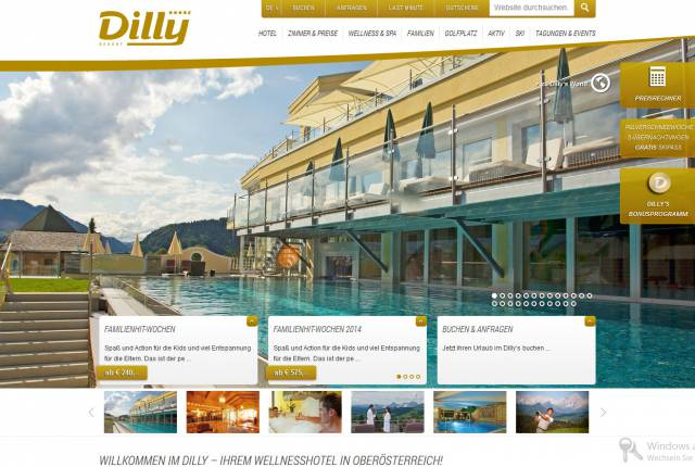 Wellness - Golf - Ski - Familotel Dilly