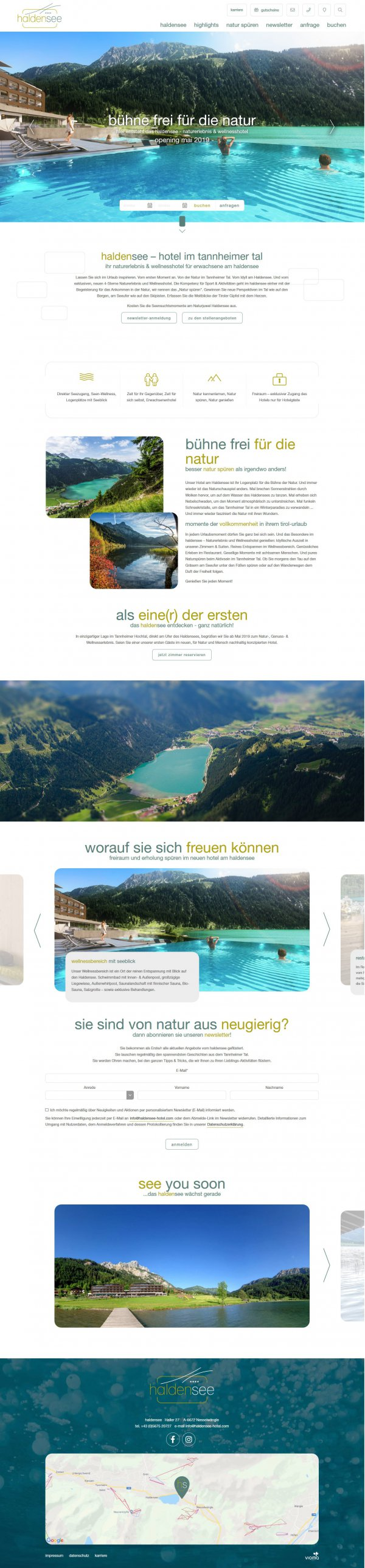 Website haldensee