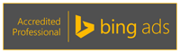Bing Ads Logo Accredited Professional