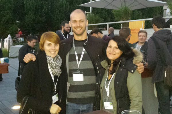 vioma-Team bei der Digital Media Night in Stuttgart