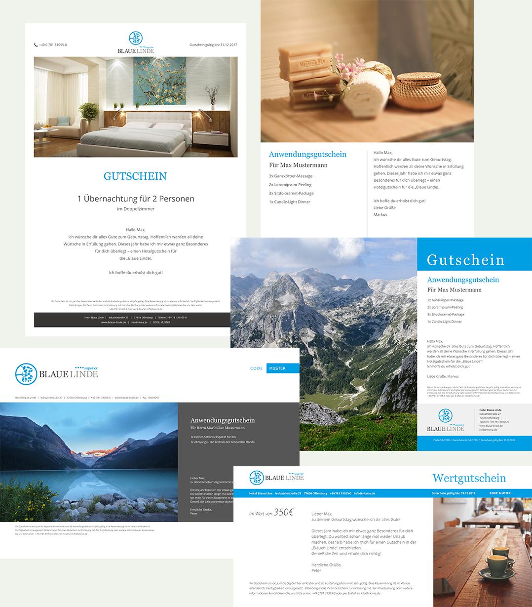 Voucher - das flexible Hotel Gutschein System - vioma GmbH
