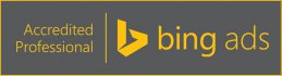 Logo bing ads Accredited Professional